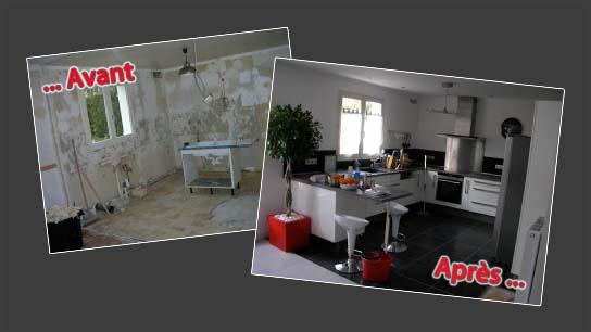 Ams multiservices cuisines metz augny - Avant apres travaux ...